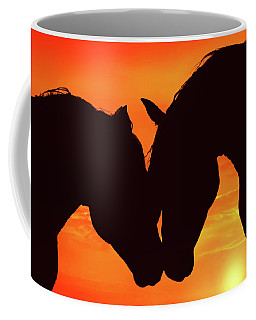 Wholeheartedly Coffee Mug by Iryna Goodall
