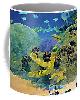 Who's Fishing? Coffee Mug