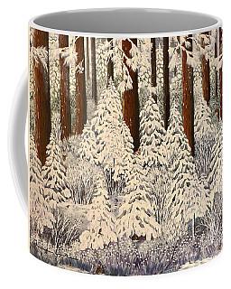 Whose Woods These Are I Think I Know Coffee Mug