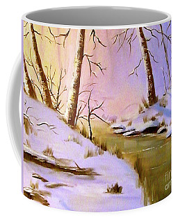 Whose Woods These Are Coffee Mug