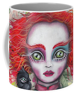 Why Is A Raven Like A Writing Desk? Coffee Mug