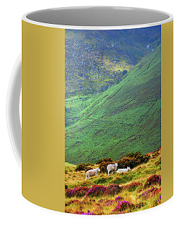 Coffee Mug featuring the photograph Wicklow Pastoral by Jenny Rainbow