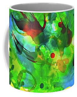 Coffee Mug featuring the painting Widdy Fishy by Michele Myers