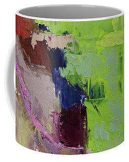 Wide Abstract 2018b Coffee Mug