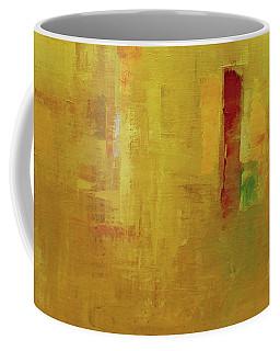 Wide Abstract D Coffee Mug