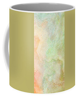 Wide Open - Abstract Art - Triptych 2 Of 3 Coffee Mug
