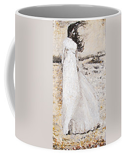 Out On The Wiley Windy Moors Coffee Mug