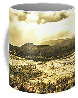 Wide Open Tasmania Countryside Coffee Mug