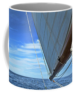 Wide Sail Blue Horizon Coffee Mug