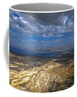 Wide View From Masada Coffee Mug