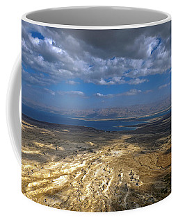 Wide View From Masada Coffee Mug