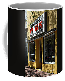 Coffee Mug featuring the photograph Wigs by Skip Willits