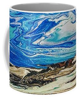 Wiinter At The Beach Coffee Mug