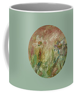 Coffee Mug featuring the painting Wil O' The Wisp by Mary Wolf