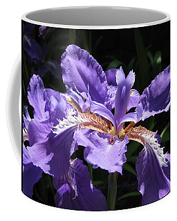 Wild About Iris Coffee Mug