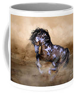 Wild And Free Horse Art Coffee Mug
