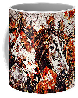 Coffee Mug featuring the painting Wild And Free by Lita Kelley