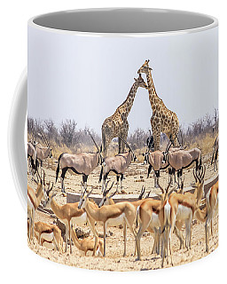 Wild Animals Pyramid Coffee Mug