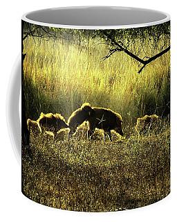 Wild Boar Coffee Mug by Manjot Singh Sachdeva