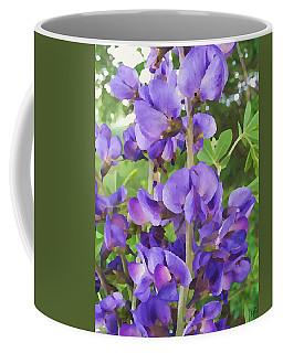 Wild Blue False Indigo Coffee Mug