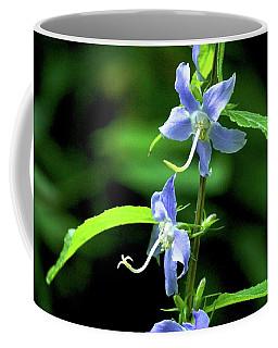 Wild Blue Flowers Coffee Mug