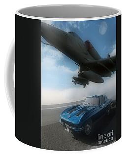Wild Blue Coffee Mug