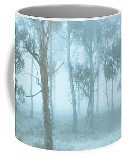 Wild Blue Woodland Coffee Mug
