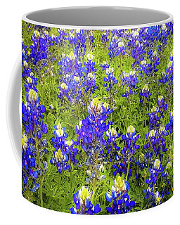 Wild Bluebonnets Blooming Coffee Mug