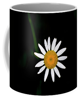 Coffee Mug featuring the digital art Wild Daisy by Chris Flees