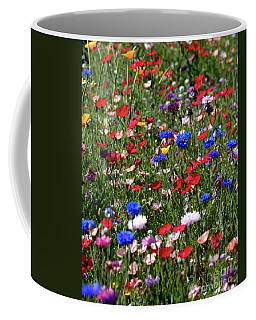 Wild Flower Meadow 2 Coffee Mug