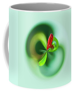 Coffee Mug featuring the photograph Wild Flower Orb by Bill Barber