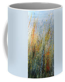 Wild Flowers And Hay Coffee Mug