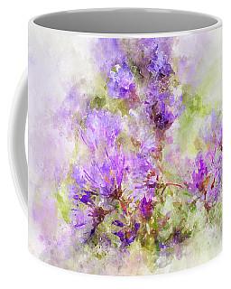 Wild Flowers In The Fall Watercolor Coffee Mug