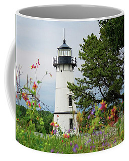 Wild Flowers On Rock Island Coffee Mug