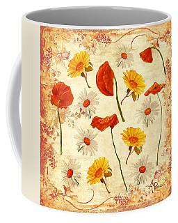 Wild Flowers Vintage Coffee Mug