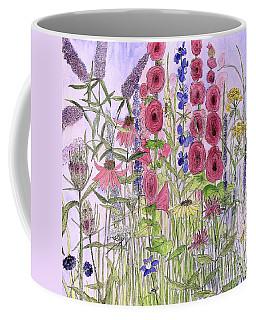 Wild Garden Flowers Coffee Mug