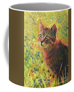 Wild Garden Tabby Coffee Mug