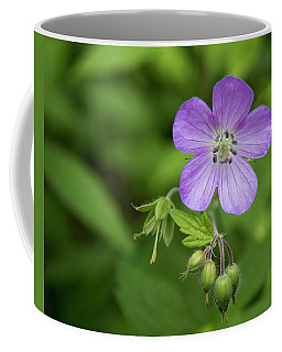Wild Geranium Coffee Mug