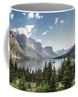 Wild Goose Island In St. Mary Lake - Glacier National Park Coffee Mug