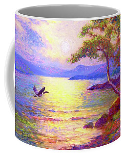 Wild Goose, Moon Song Coffee Mug