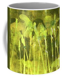 Coffee Mug featuring the painting Wild Grass 6 by Nancy Merkle