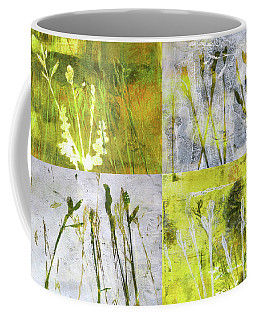 Wild Grass Collage 2 Coffee Mug