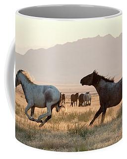 Wild Horse Chase Coffee Mug