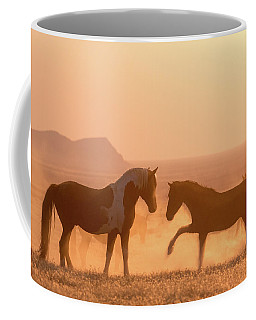 Wild Horse Glow Coffee Mug