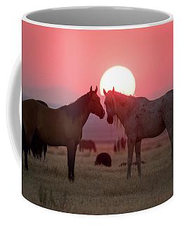 Wild Horse Sunset Coffee Mug