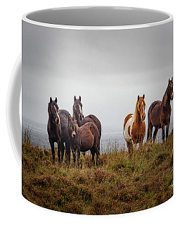Wild Horses In Ireland Coffee Mug