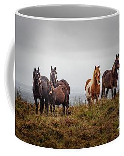 Wild Horses In Ireland Coffee Mug