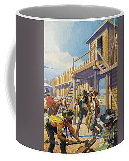 Wild Man Of The Mountain  Hugh Glass Coffee Mug