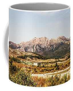 Wild Mountain Range Coffee Mug