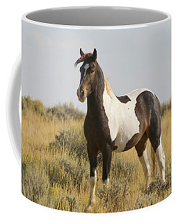 Wild Mustang Horse Coffee Mug